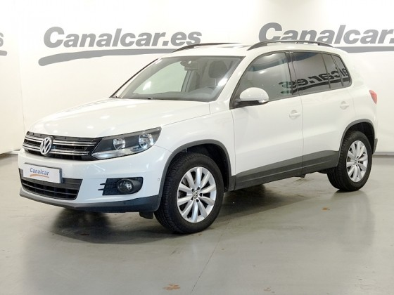volkswagen tiguan 2 0 tdi t1 bluemotion 4x2 110cv de segunda mano en madrid 3837. Black Bedroom Furniture Sets. Home Design Ideas