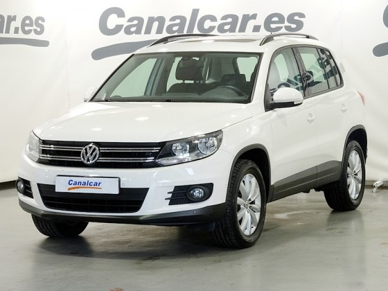 volkswagen tiguan 2 0 tdi t1 bmt 4x2 110cv de segunda mano en madrid 4025. Black Bedroom Furniture Sets. Home Design Ideas