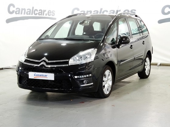 citroen grand c4 picasso 1 6hdi millenium cmp 112cv de segunda mano en madrid 4059. Black Bedroom Furniture Sets. Home Design Ideas