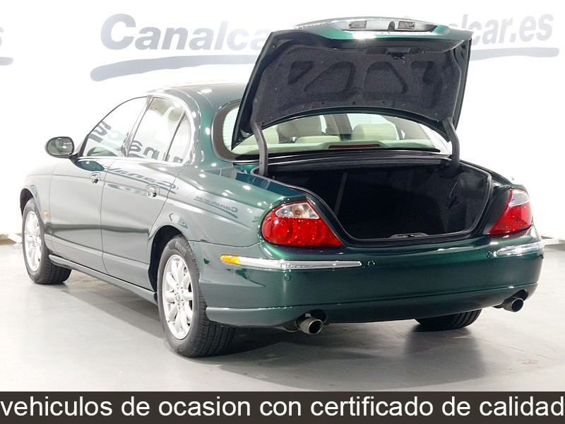 Jaguar s type 2 5 v6 executive de ocasion y segunda mano - Concesionario jaguar madrid ...