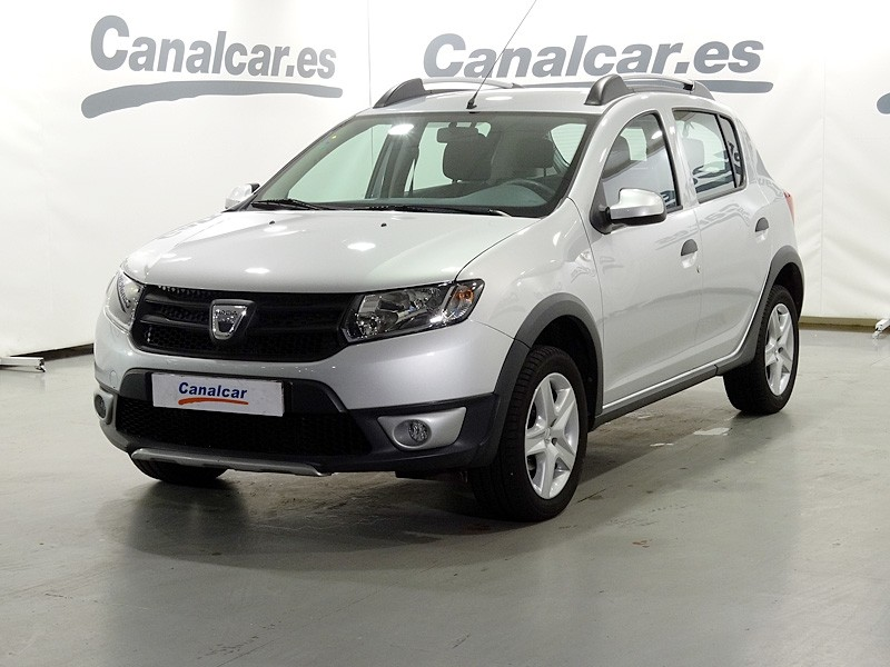 dacia sandero tce 90 stepway 90cv de ocasion y segunda mano en concesionario canalcar de madrid. Black Bedroom Furniture Sets. Home Design Ideas
