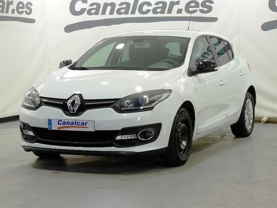 renault megane 1 5 dci limited 95cv de segunda mano en madrid 4233. Black Bedroom Furniture Sets. Home Design Ideas