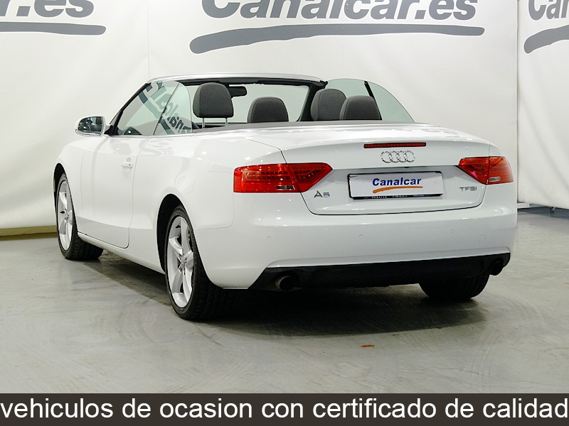 audi a5 cabrio 1 8 tfsi multitronic 170cv de segunda mano. Black Bedroom Furniture Sets. Home Design Ideas