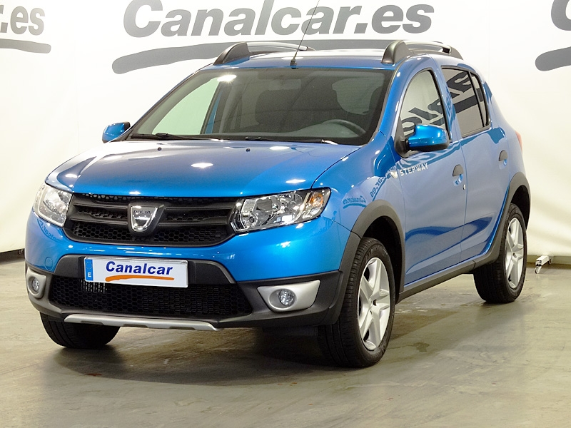dacia sandero dci 90 stepway eu6 90cv de ocasion y segunda mano en concesionario canalcar de. Black Bedroom Furniture Sets. Home Design Ideas