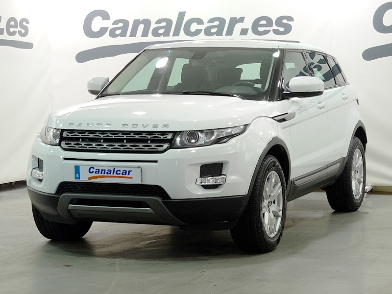 land rover range rover evoque 2 2l ed4 4x2 pure 150cv de segunda mano en madrid 4305. Black Bedroom Furniture Sets. Home Design Ideas
