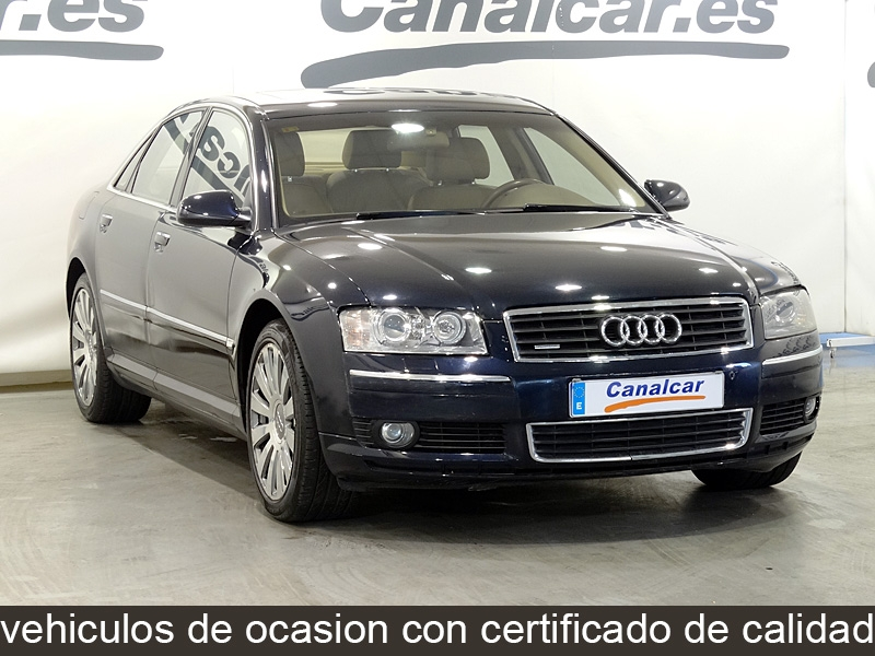 audi a8 4 2 v8 quattro tiptronic de segunda mano en madrid 4381. Black Bedroom Furniture Sets. Home Design Ideas