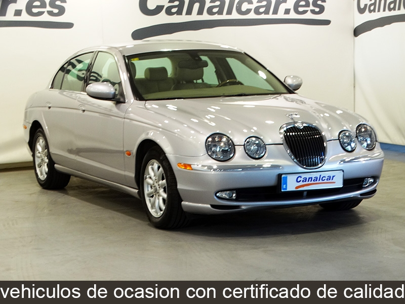 Jaguar s type 3 0 v6 executive de ocasion y segunda mano - Concesionario jaguar madrid ...
