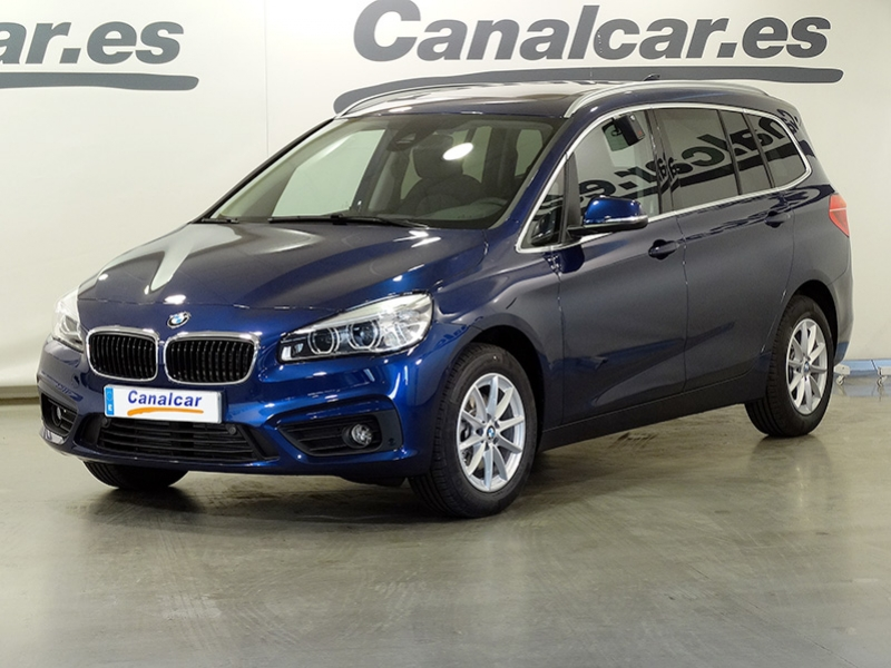 bmw 216 d gran tourer 7 plazas de ocasi n canalcar. Black Bedroom Furniture Sets. Home Design Ideas