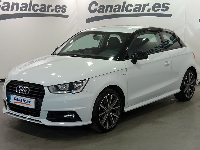 audi a1 1 4 tdi ultra adrenalin 90cv s line de segunda mano en madrid 5324. Black Bedroom Furniture Sets. Home Design Ideas