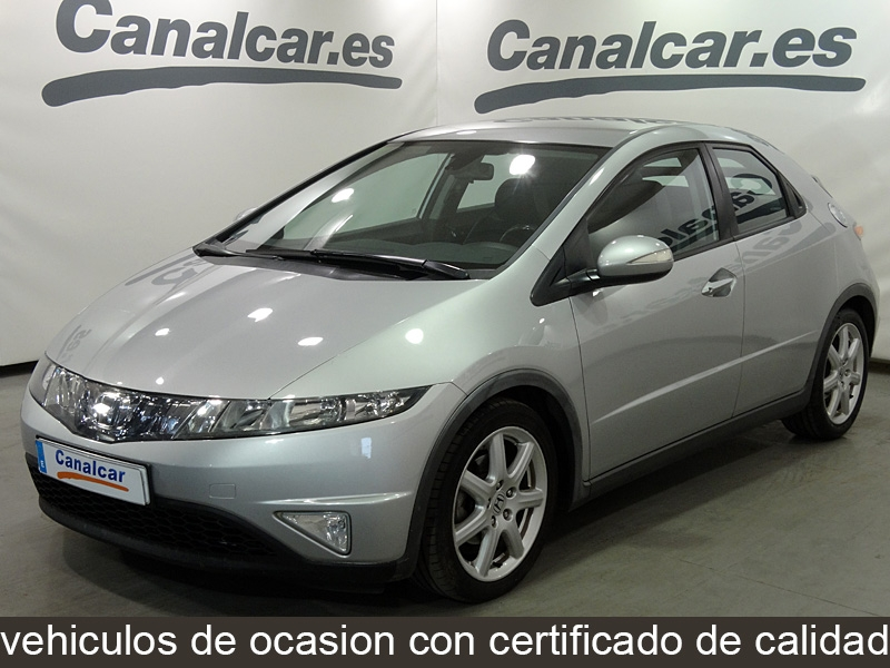 honda civic 2 2 i ctdi sport 140cv de segunda mano en madrid 5410. Black Bedroom Furniture Sets. Home Design Ideas