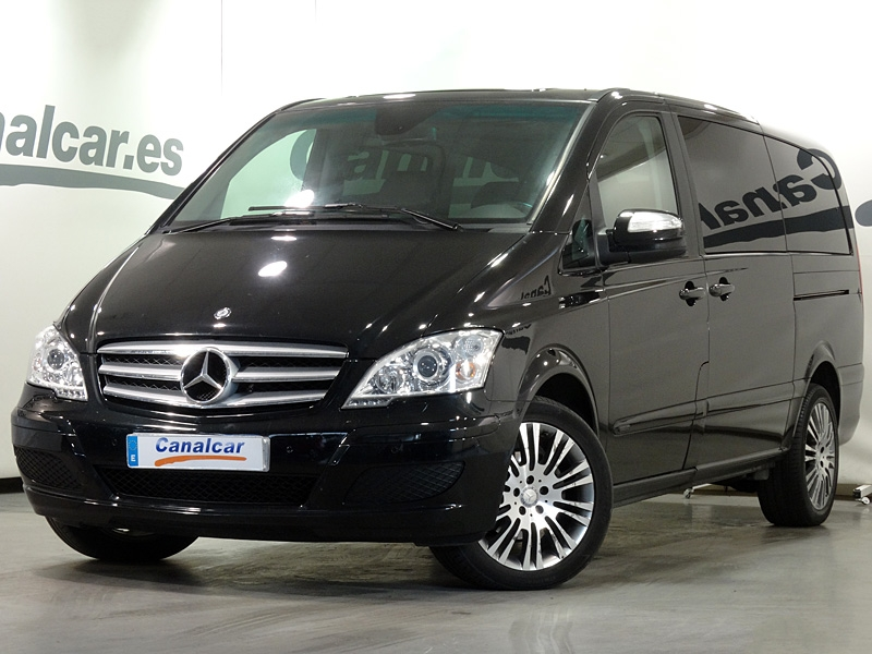 mercedes benz viano 3 0 cdi ambiente larga 7 plazas 224cv. Black Bedroom Furniture Sets. Home Design Ideas
