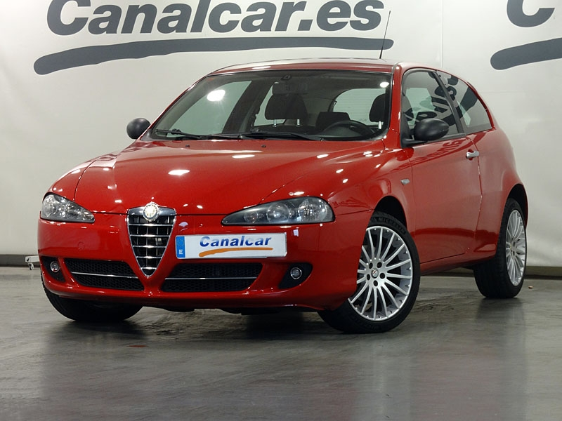 alfa romeo 147 sport 120cv de segunda mano en madrid 6238. Black Bedroom Furniture Sets. Home Design Ideas