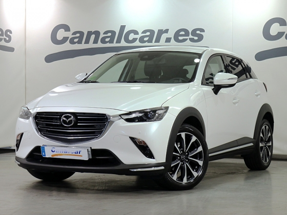 Mazda CX-3 2.0 G 121CV 2WD AT Zenith White