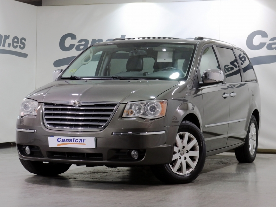 Chrysler Grand Voyager 2.8 CRD Limited Entretenimiento 163CV Aut.