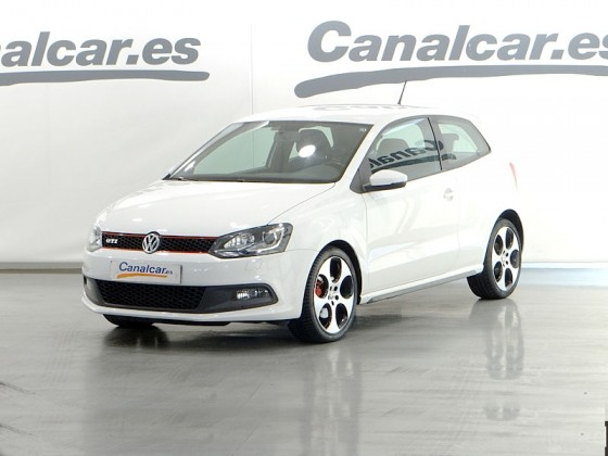 volkswagen polo 1 4 tsi gti dsg 180 cv de segunda mano en madrid 2607. Black Bedroom Furniture Sets. Home Design Ideas